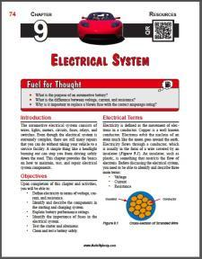 Auto Upkeep - (Chapter 9 - Electrical System - Textbook and Workbook) 3rd Edition