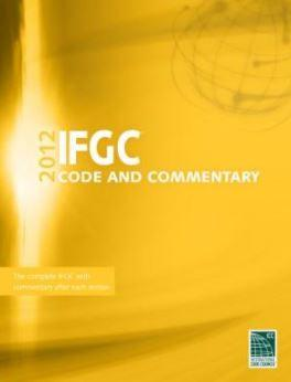 2012 International Fuel Gas Code and Commentary (W/GA Amendents) (IFGC)