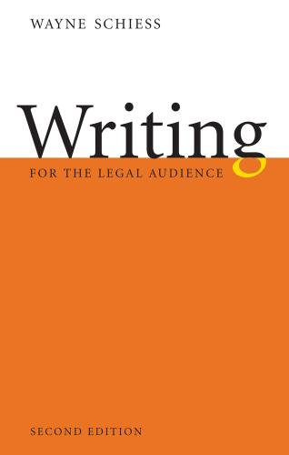 Writing for the Legal Audience