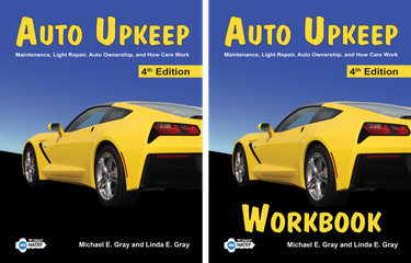 Auto Upkeep (Textbook and Workbook Set)