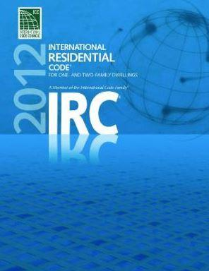 2012 International Residential Code (W/GA Amendments)