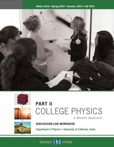 College Physics: A models approach