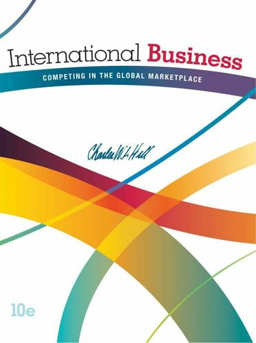 international business charles w l hills Global business today, 6th edition, charles w l hill international business hill 8th edition test bank international business hill 8th edition test bank.