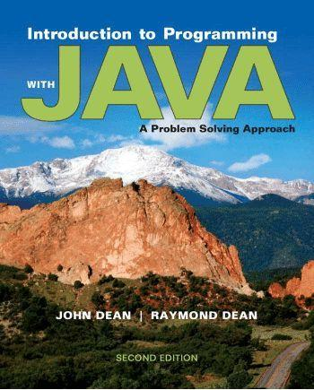 Milwaukee school of engineering introduction to programming with java a problem solving approach fandeluxe Choice Image